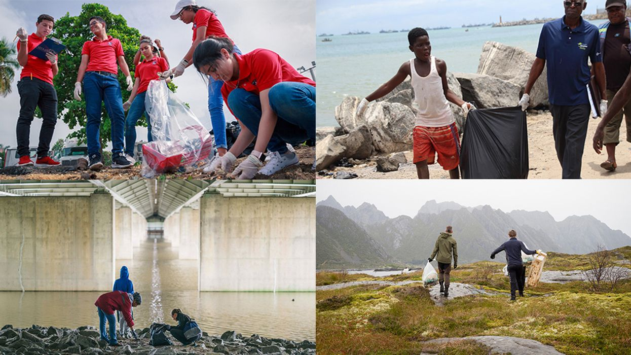 International Coastal Cleanup Gears up for 'Million-Strong' Turnout Saturday