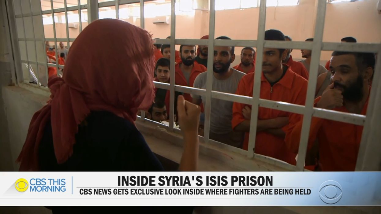 CBS News finds multiple ISIS members in a Kurdish prison who claim to be American and want to go home