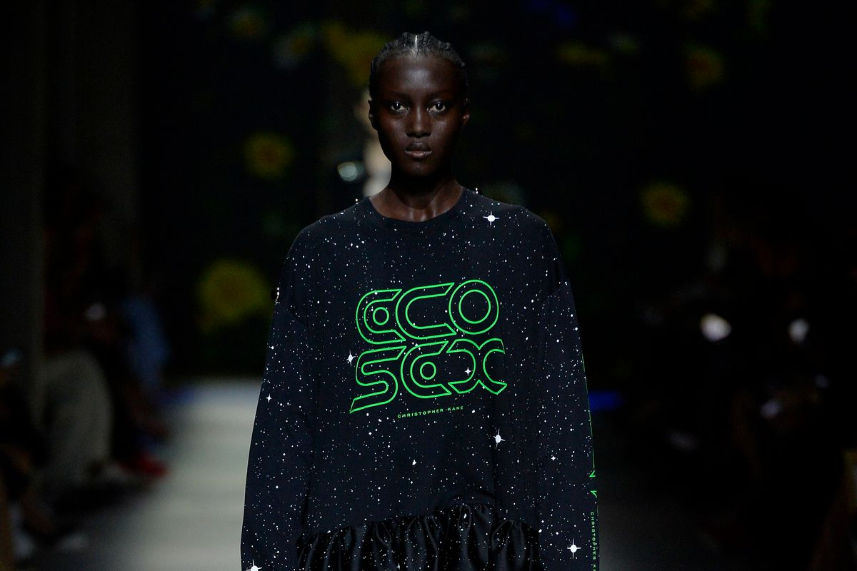 Christopher Kane Showed an 'Ecosexual' Collection at LFW