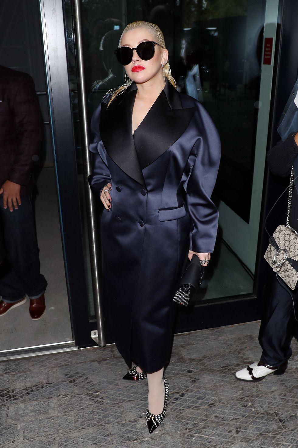 Christina Aguilera LFW 2019