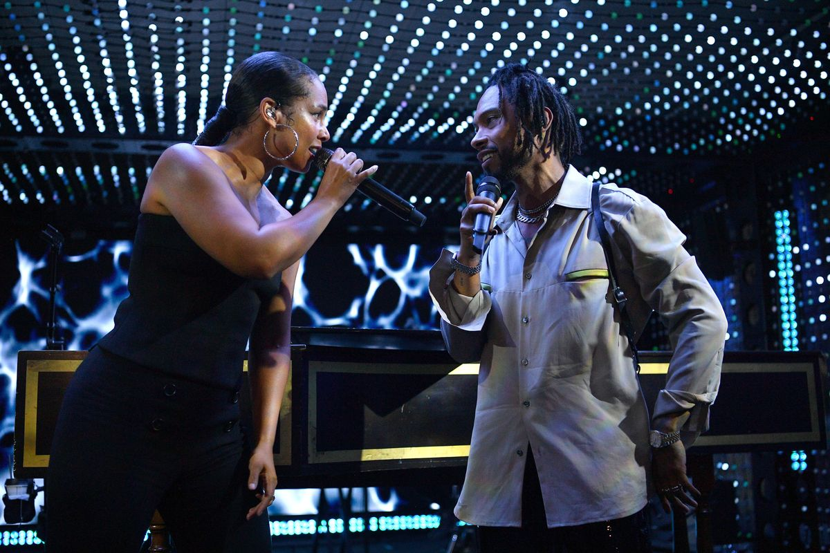 Alicia Keys and Miguel's New Collab Is Passion Personified