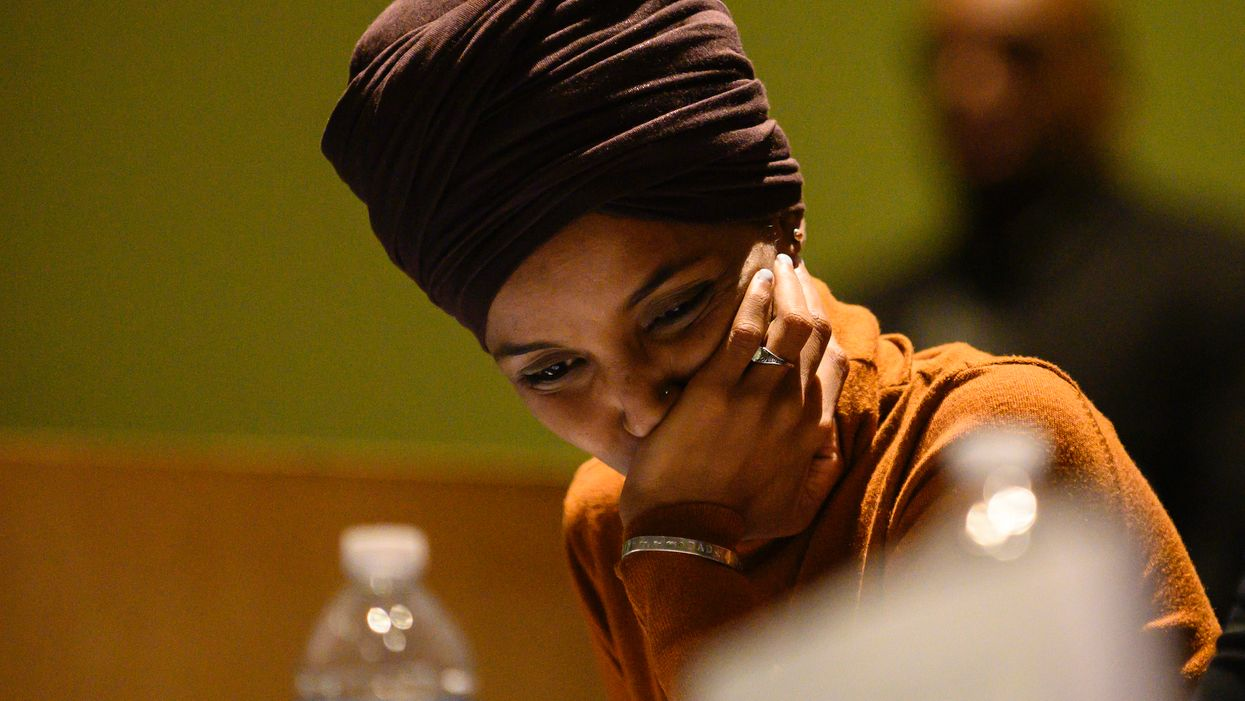Ilhan Omar offers odd excuse for deleting tweet that raised new questions about her marriage