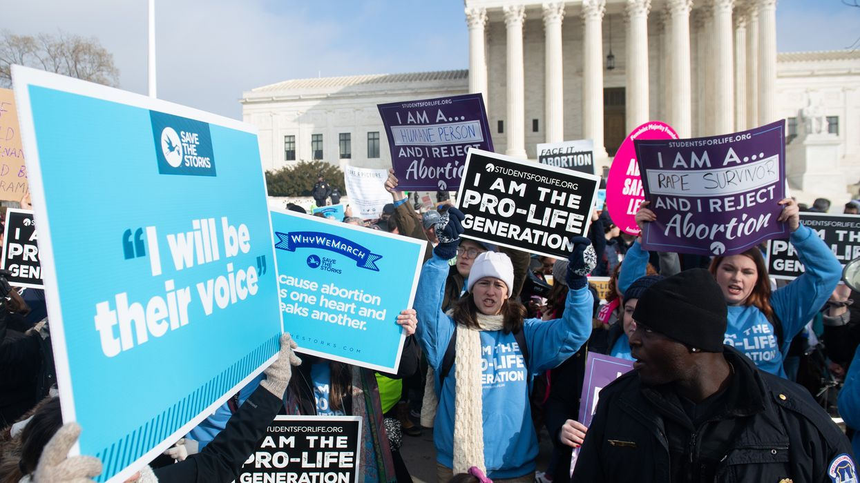 The number of abortions in the US drops to an all-time low since Roe v. Wade
