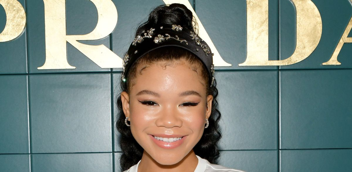 'Euphoria' Star Storm Reid Makes The Case For Embellished Headbands And Baby Hair
