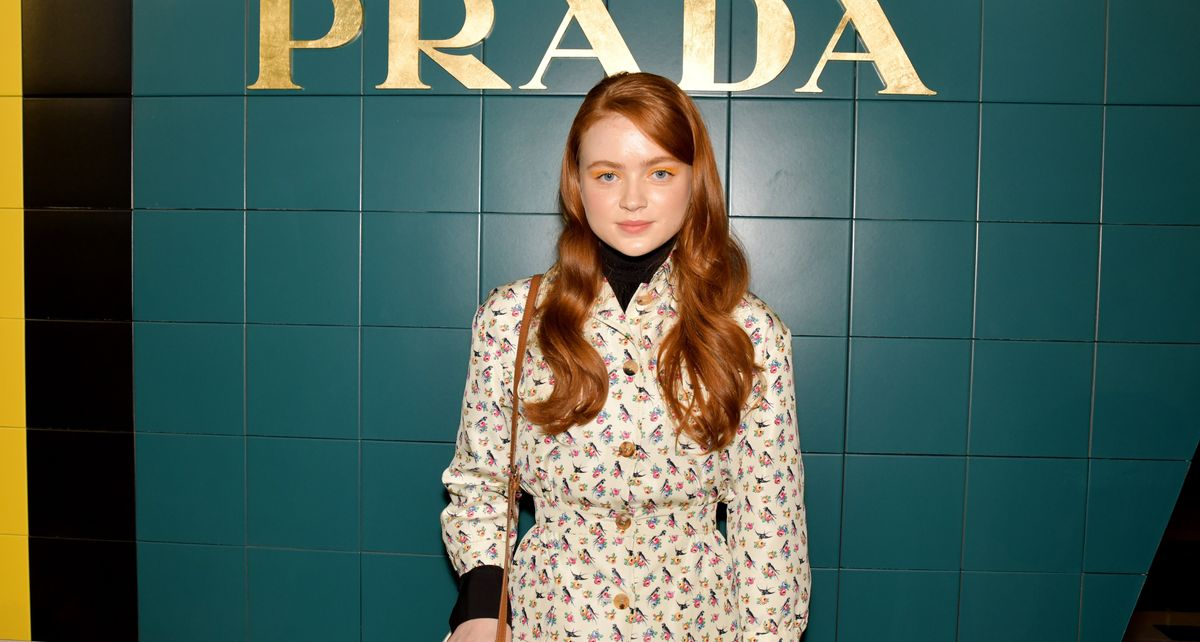'Stranger Things' Star Sadie Sink Combined Two Of Our Favorite Trends With This Pantsuit