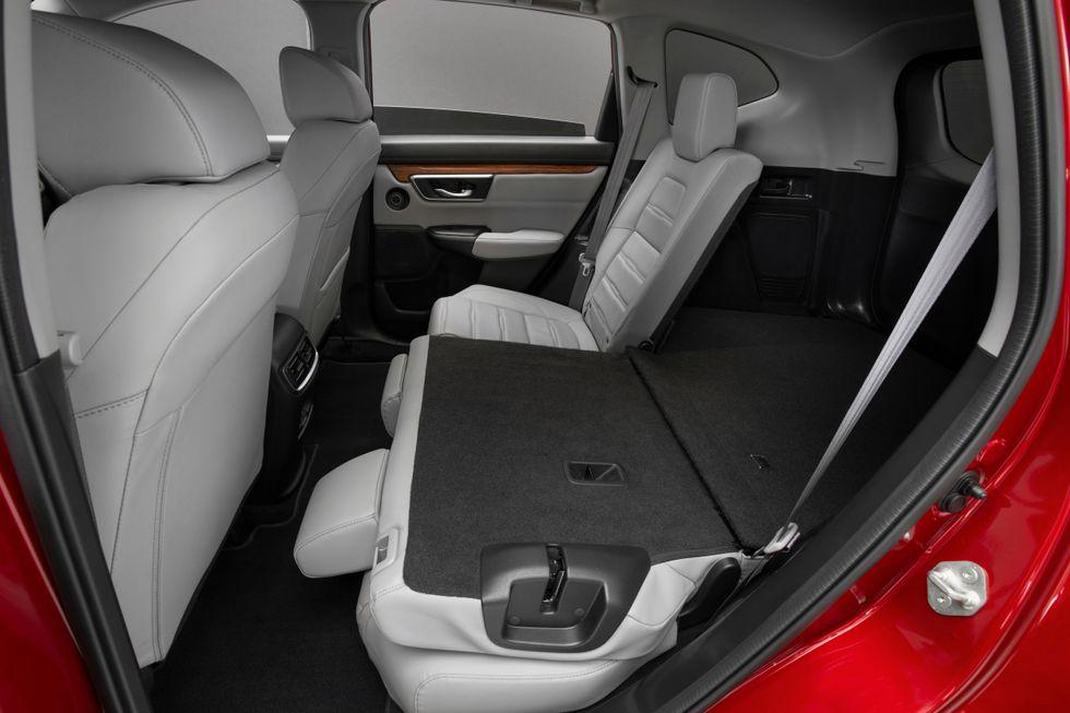 2020 Honda CR-V Interior Seats Folding Back Seat