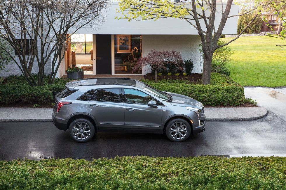 2020 Cadillac XT5 Sport Side Wheels Exterior
