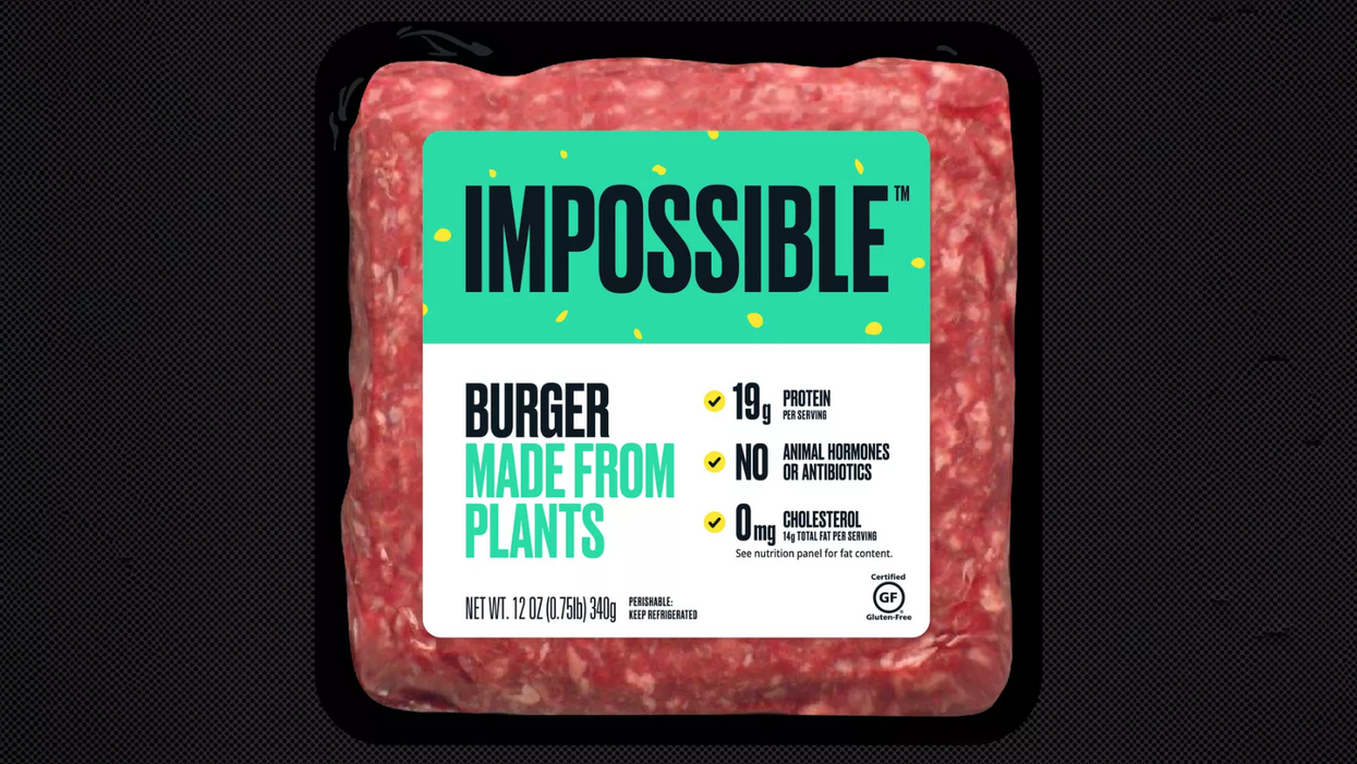 Impossible Burger hits grocery stores on Friday
