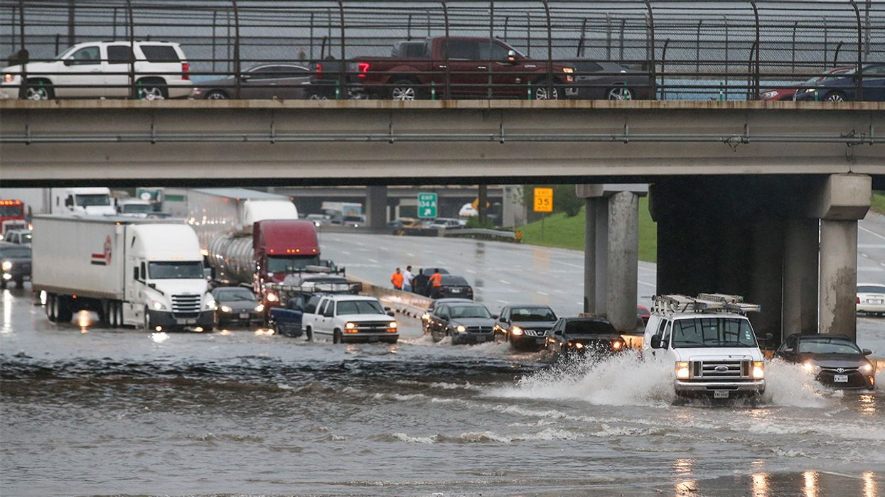 'We Shouldn't Be Used to This': Houston Swamped by Second Major Flood Event in Two Years