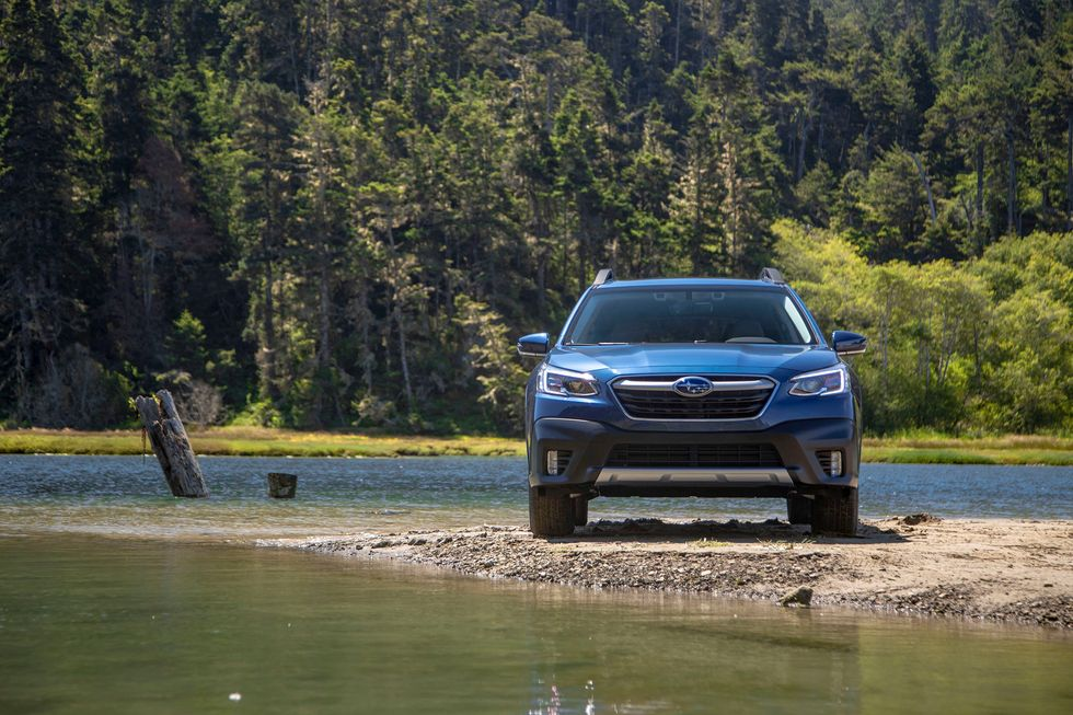 2020 Subaru Outback Front Off-Roading Off Road Grille Lights