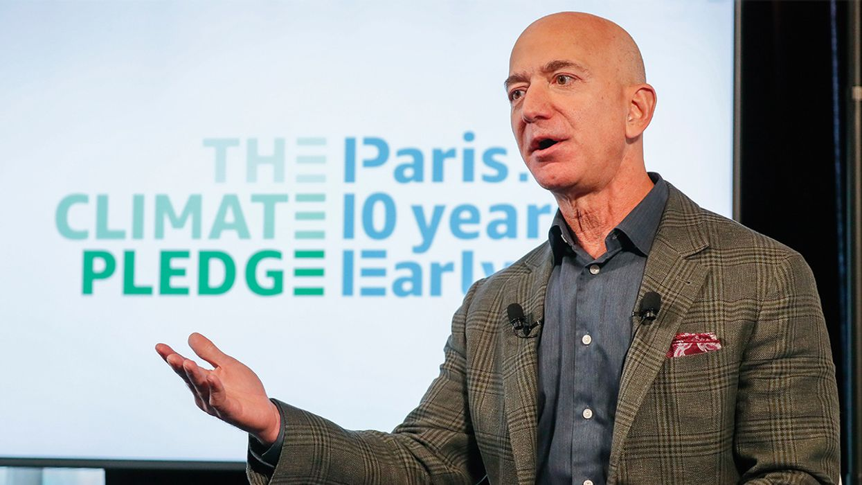 Amazon Unveils Its Climate Crisis Plan