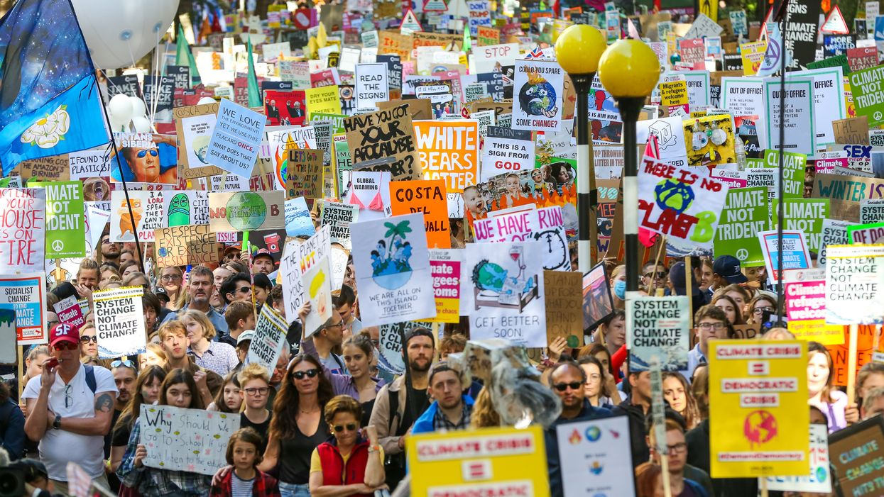 Global climate strike: Scenes from the #ClimateMarch protests