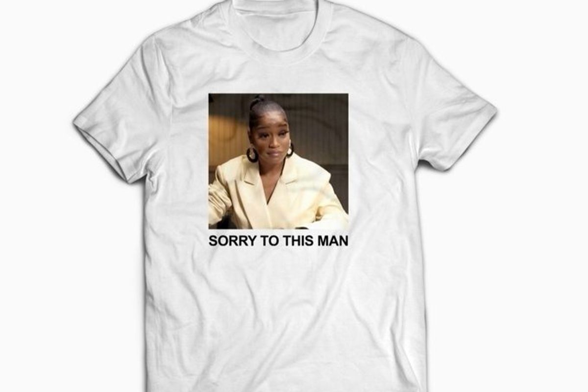Keke Palmer Made 'Sorry to This Man' Merch