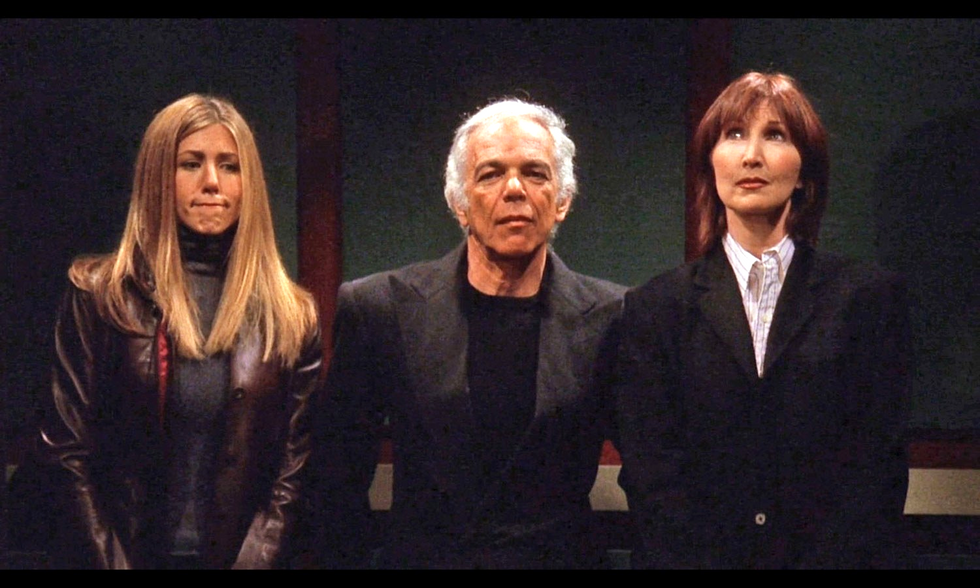 Ralph Lauren Just Released A 'Friends'-Inspired Collection, But We Doubt Rachel Green Could Afford A $3K Coat