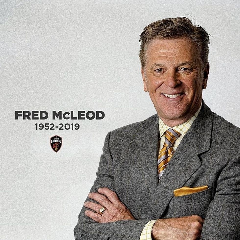 In Honor Of Fred McLeod, Whose Sudden Passing Has Every Cavs Fan Devastated