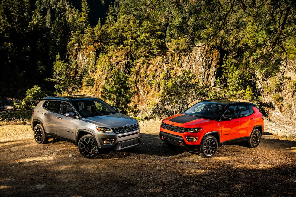 2020 Jeep Compass Multi-model front