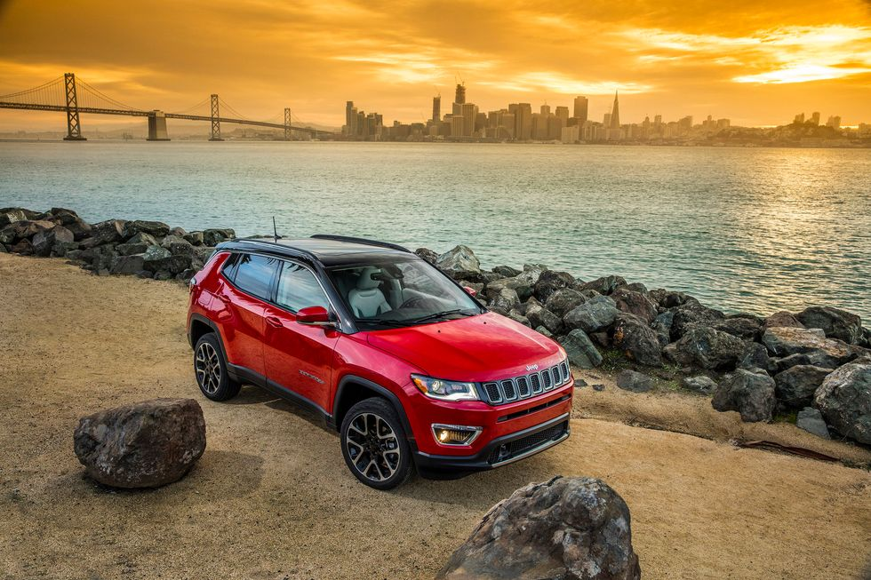 2020 Jeep Compass Limited Front Grille Headlights Side Wheels Roof