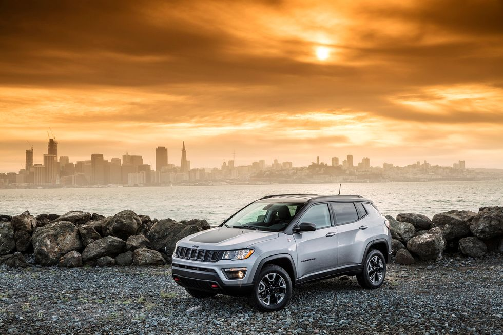 2020 Jeep Compass Trailhawk Front Grille Wheels Mirrors lights