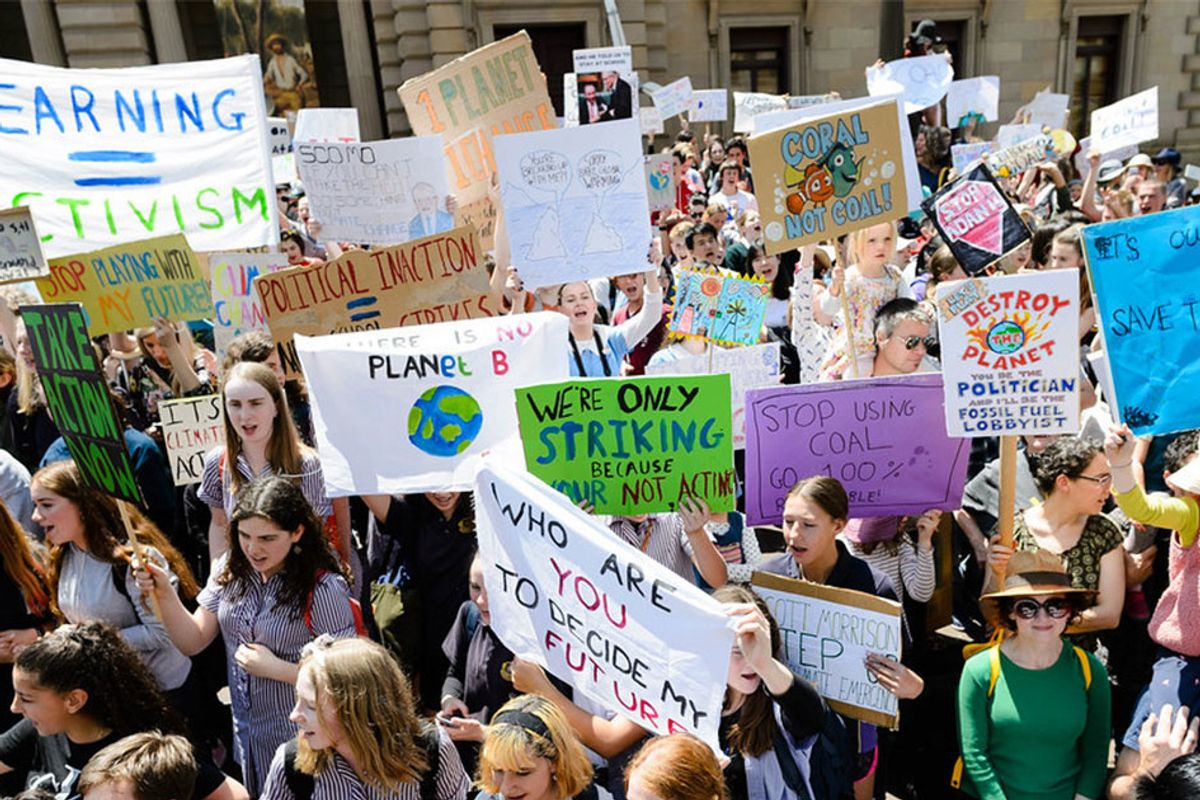 Youth activists gather to fight climate change at UN Summit: 'We need to transform anger into action'