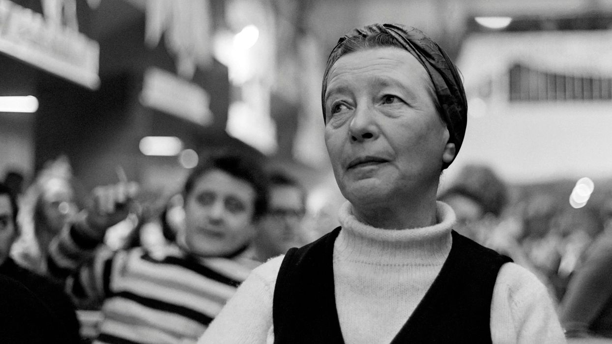 simone de beauvoir did not believe in being a strong woman