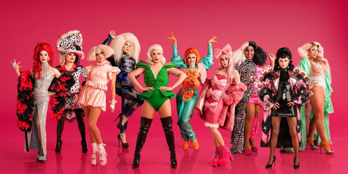 Meet the Queens from 'RuPaul's Drag Race UK'