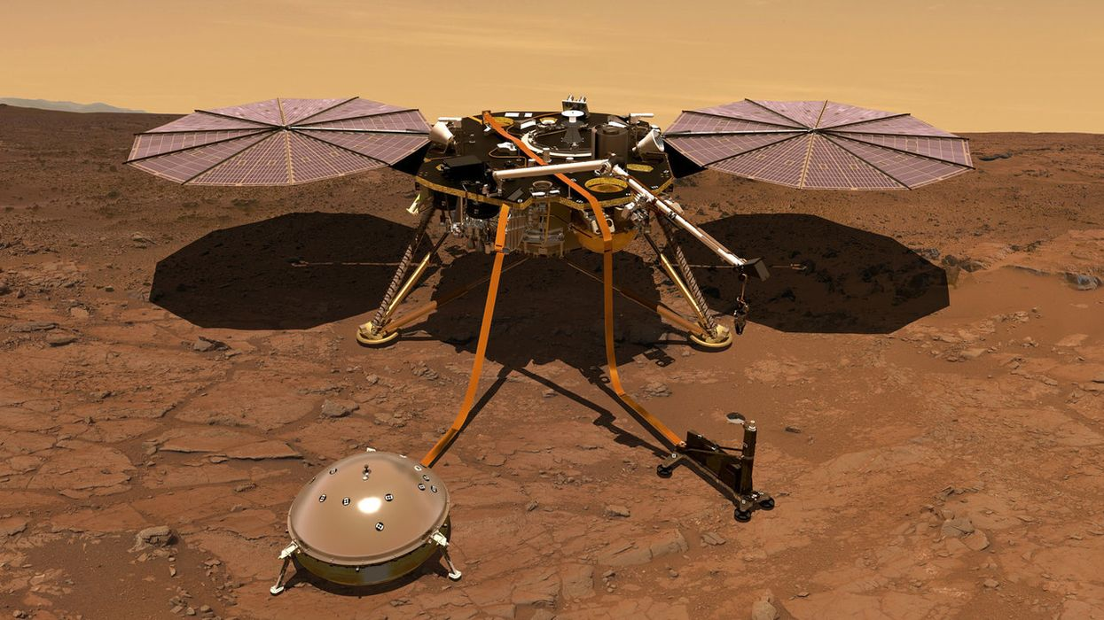 Strange magnetic pulses that happen at midnight detected on Mars