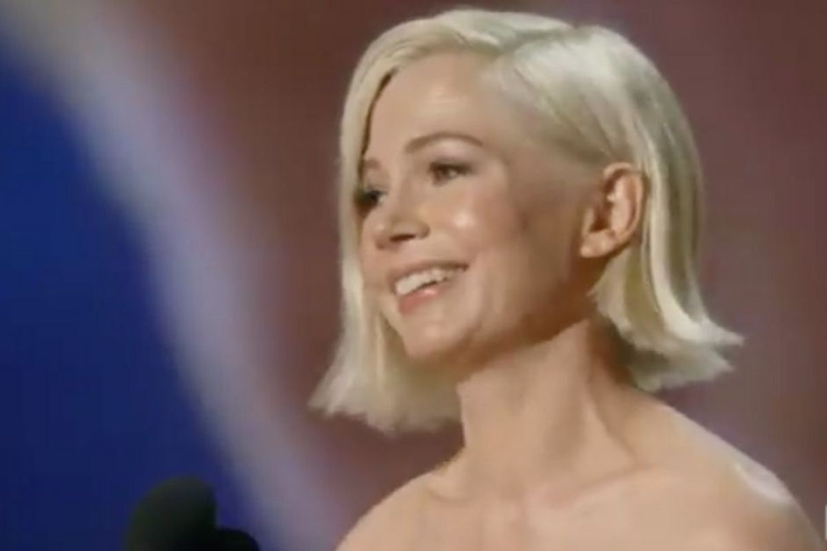 Watch Michelle Williams' positive, impassioned Emmy speech on women and equal pay