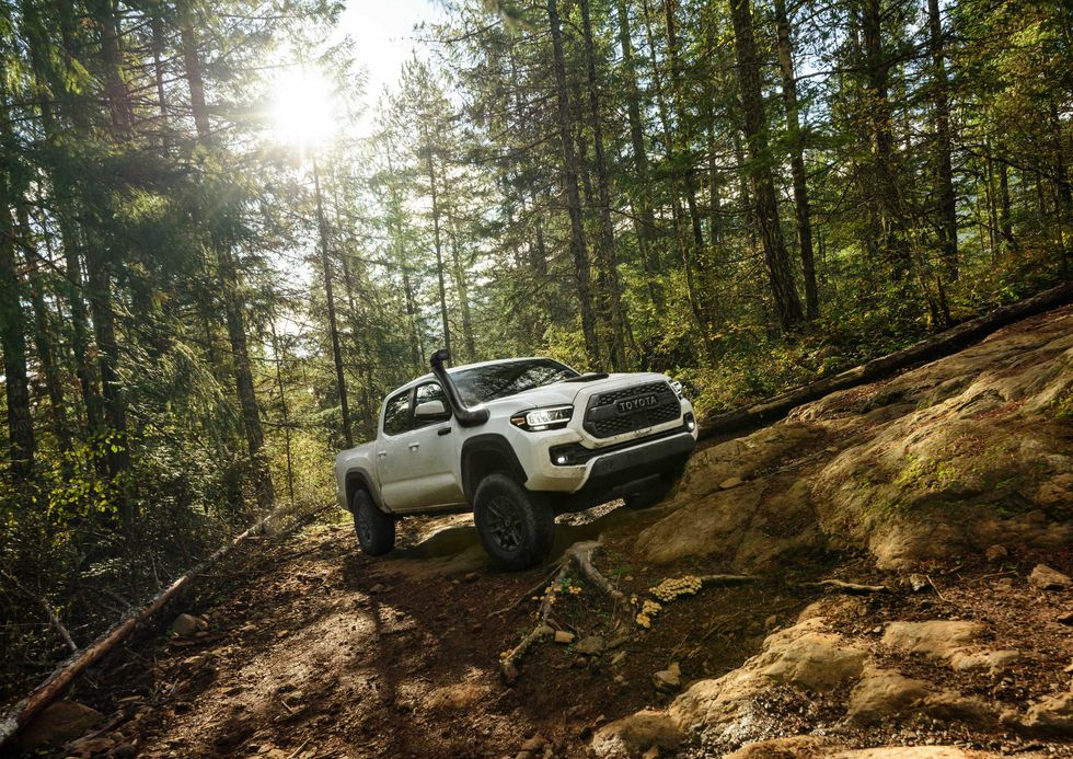 2020 Toyota Tacoma TRD Pro woods off-roading snorkel