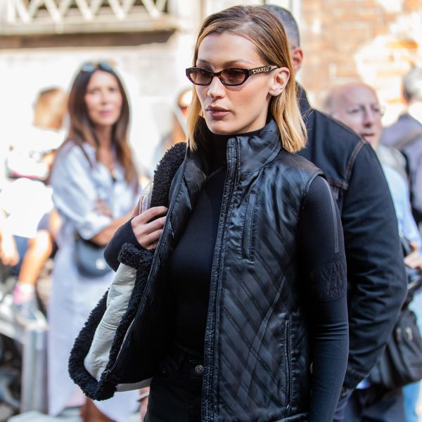 Bella Hadid Wears Rising New York Label Commission