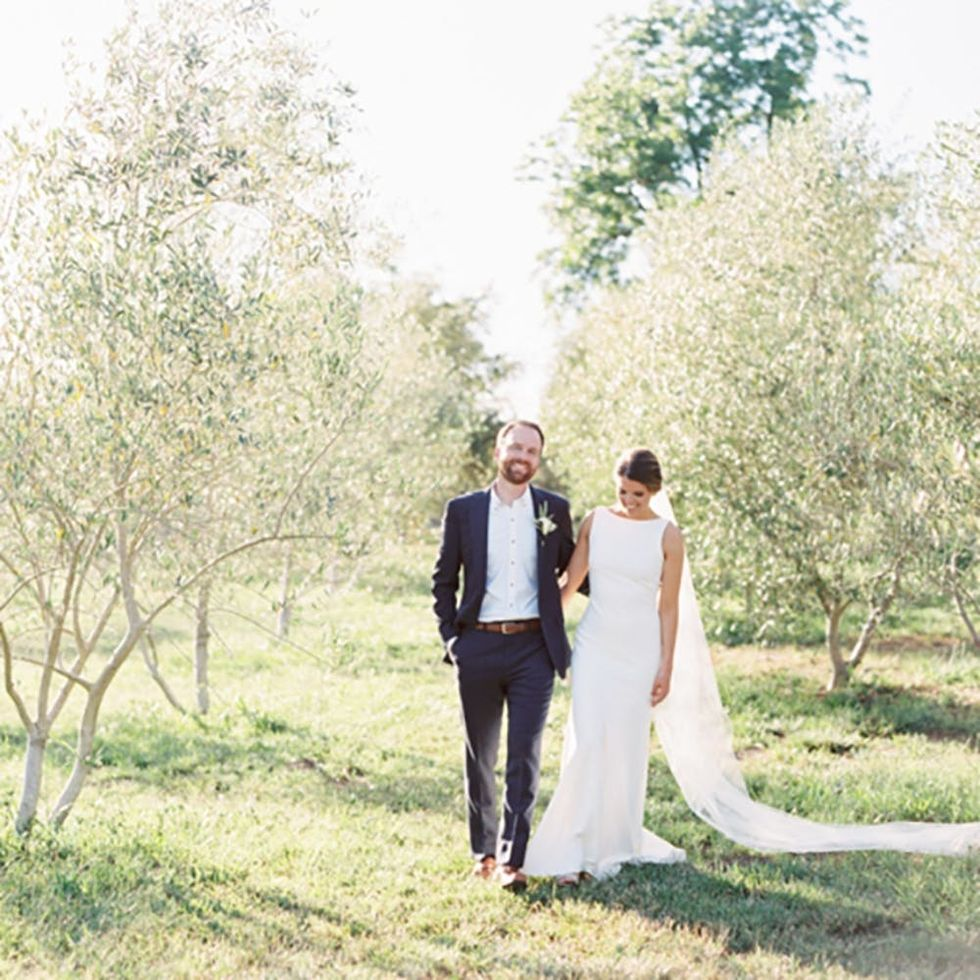 This Sonoma Valley Wedding Is Every Minimalist Bride's Dream