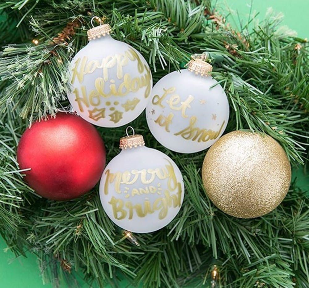 10 small gold Christmas decoration tassels Mini Xmas craft embellishments