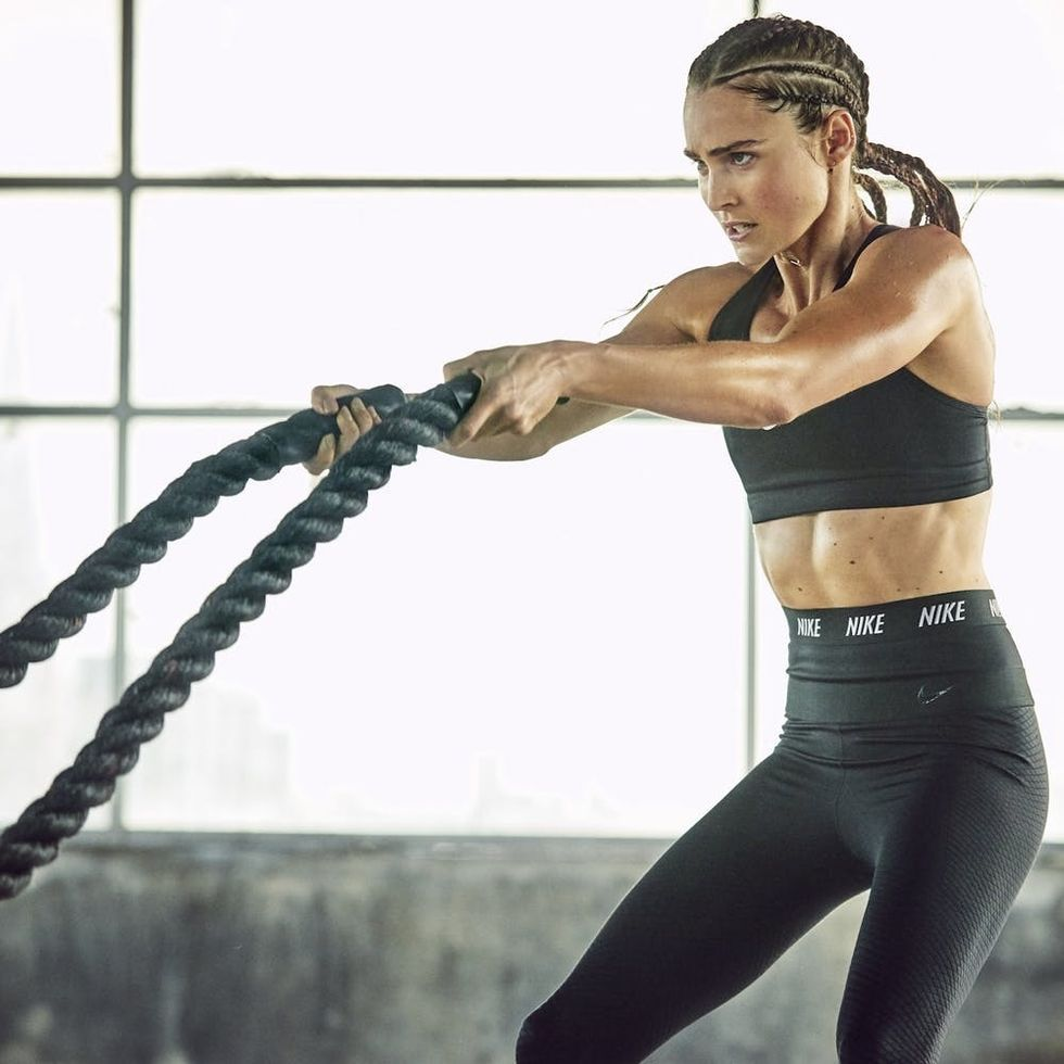 Es decir exégesis Prefijo  Nike Master Trainer Kirsty Godso on the Biggest Workout Mistake People Make  - Brit + Co