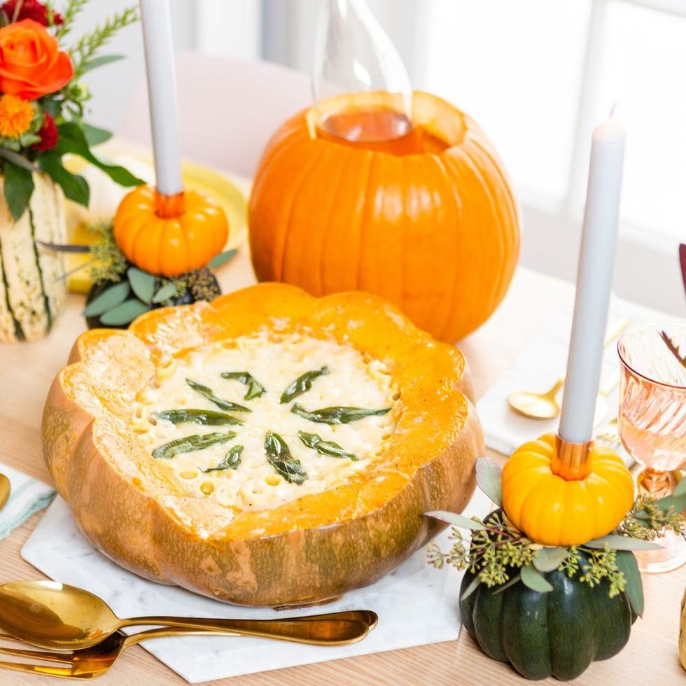 How to Create a Gourd-geous Tablescape This Thanksgiving