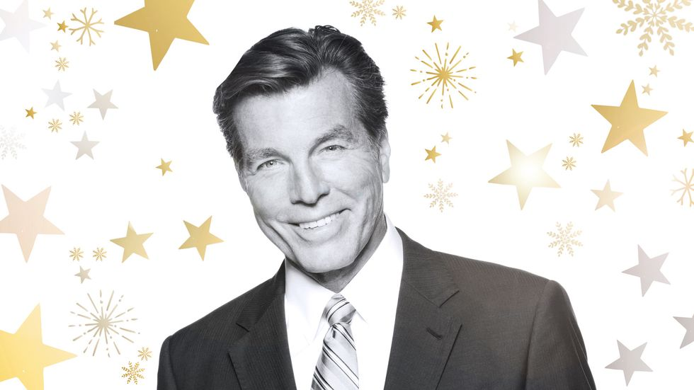 Peter Bergman poses for a holiday image.