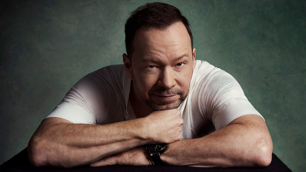 Donnie Wahlberg picture staring into camera