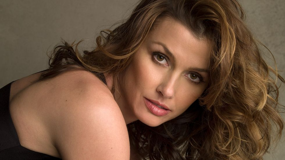 Bridget Moynahan in black outfit