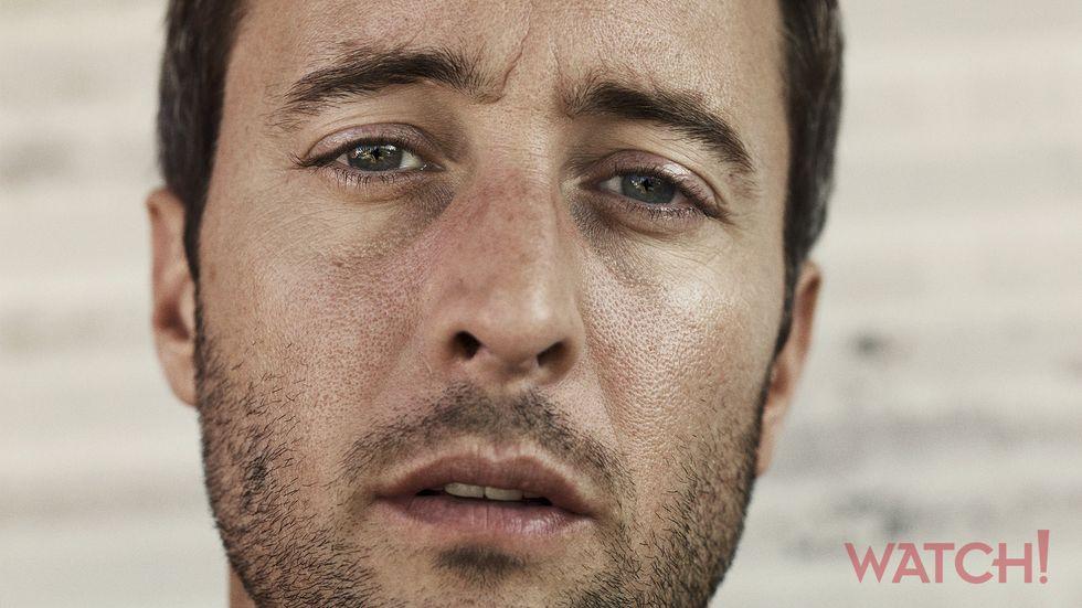 Alex OLoughlin of Hawaii Five 0 close up
