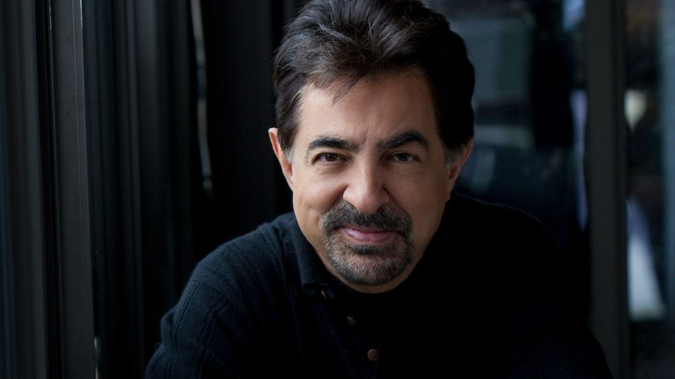 Joe Mantegna in a turtleneck