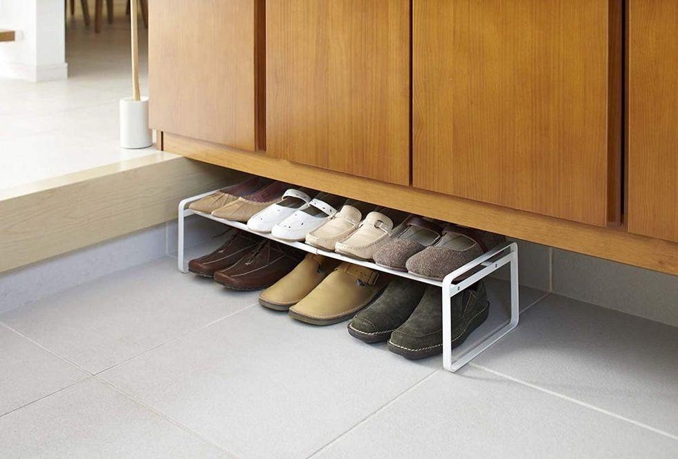 yamazaki adjustable shoe rack