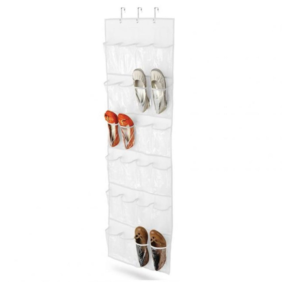 Honey Can Do 24-Pocket Over-the-Door Shoe Organizer