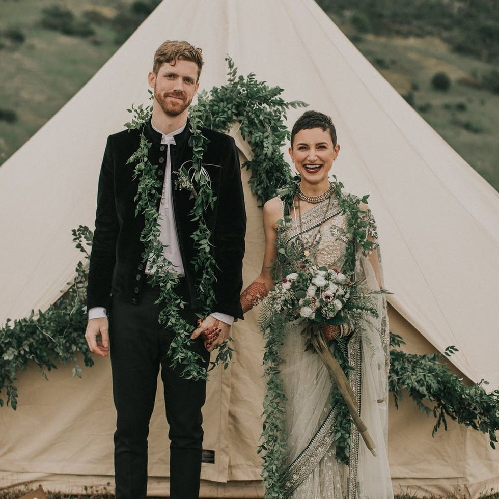This Multicultural Wedding Celebration Will Sweep You Off Your Feet