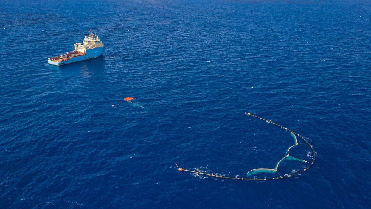 Organizers: Operation Ocean Cleanup is finally working