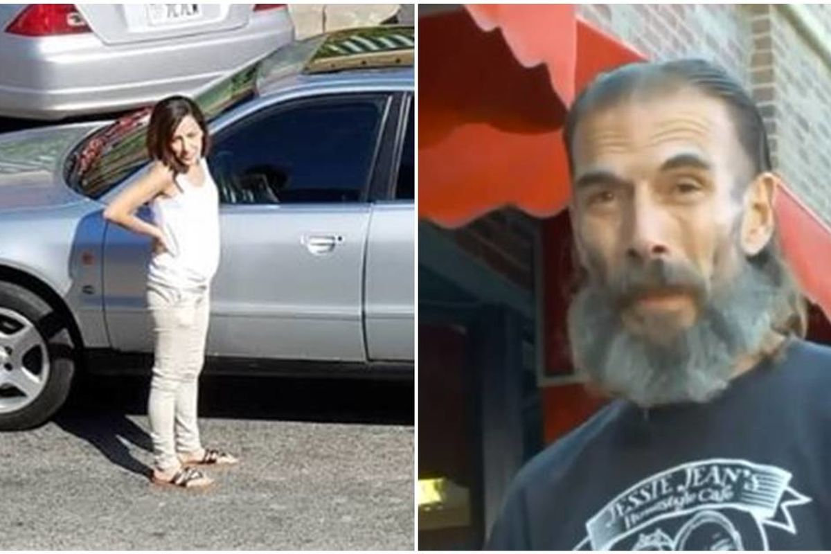 Everyone ignored this single mom with a flat tire until a homeless man arrived on the scene