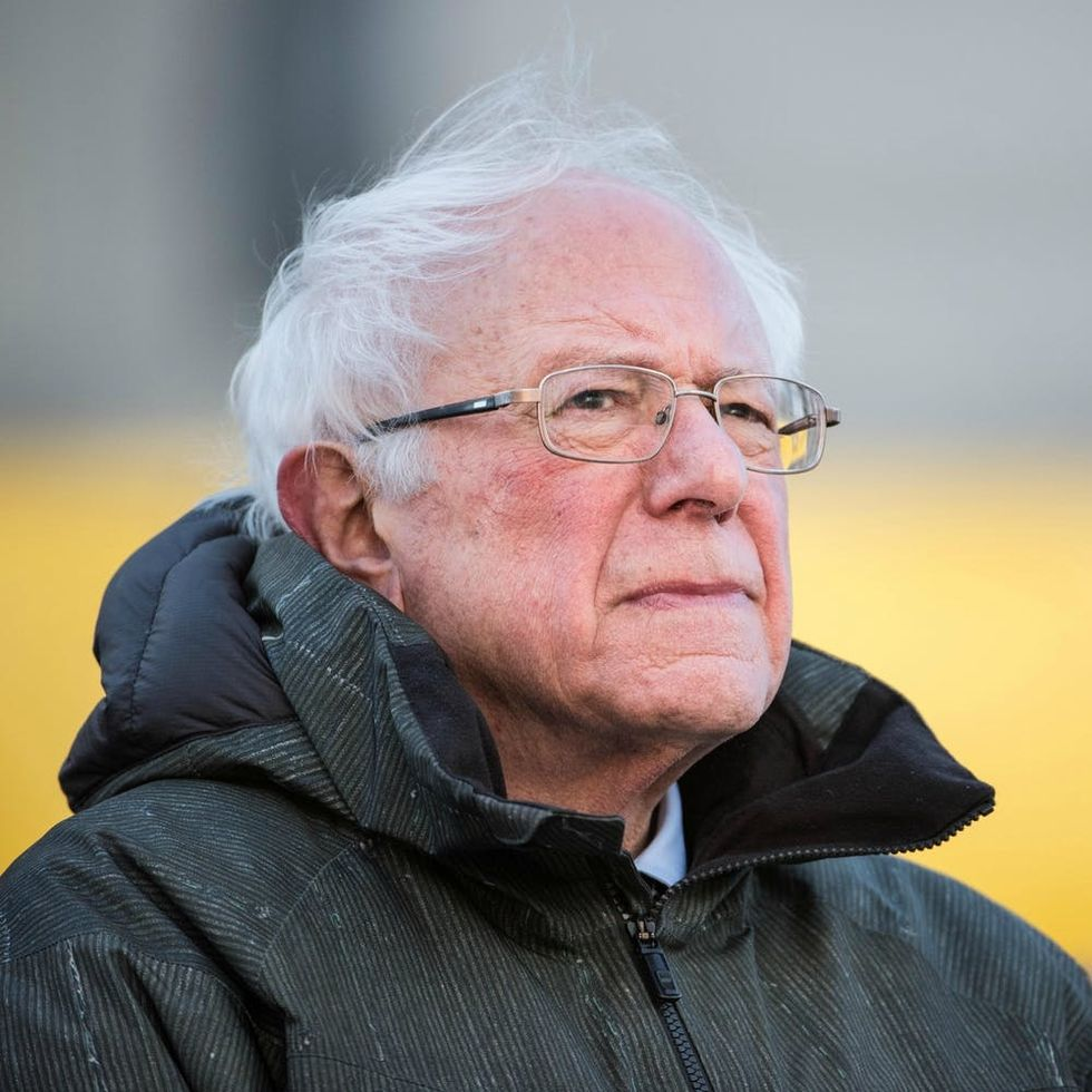 Bernie Sanders Is Officially a Frontrunner for President in 2020