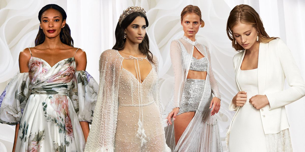 The 16 Coolest Wedding Looks From Bridal Fashion Week