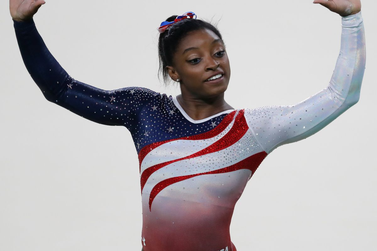 Simone Biles is so good at gymnastics, her signature move is now named after her
