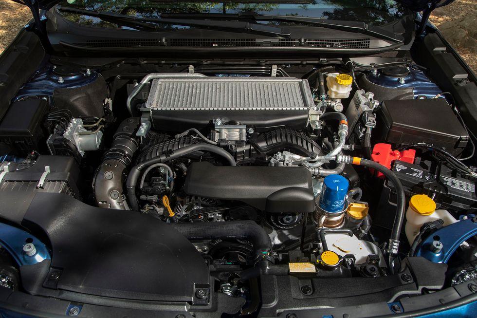 2020 Subaru Legacy engine