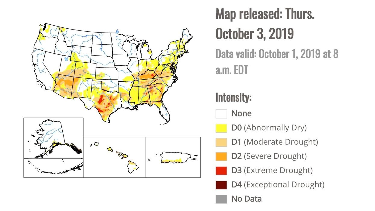 Extreme 'Flash Drought' in Southeast Means Big Trouble for U.S. Farmers