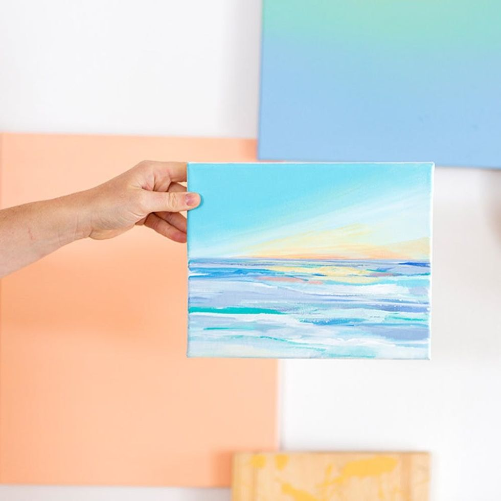 Start a Paint and Wine Night at Home With Our New Online Painting Workshop