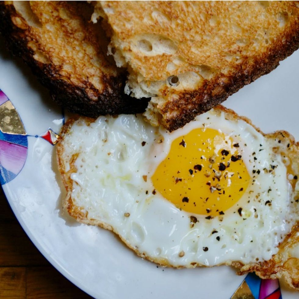 The Best Way to Fry an Egg Every Time